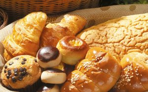 baked goods gluten
