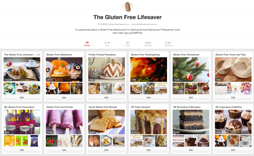The Gluten Free Lifesaver on Pinterest