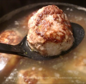 Yummy Norwegian Meatballs by The Gluten Free Lifesaver