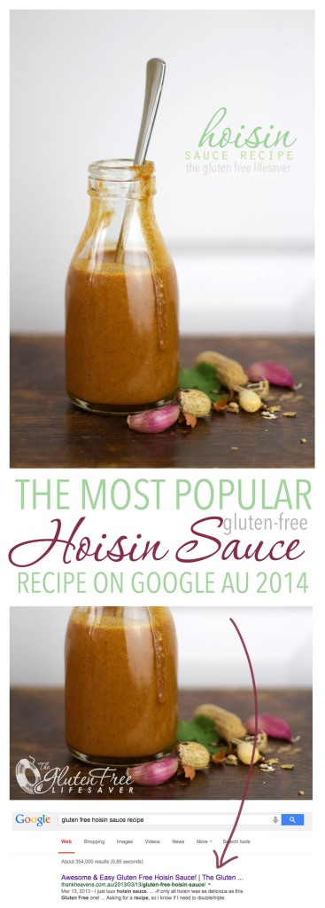 The most popular gluten-free hoisin sauce recipe on google au!