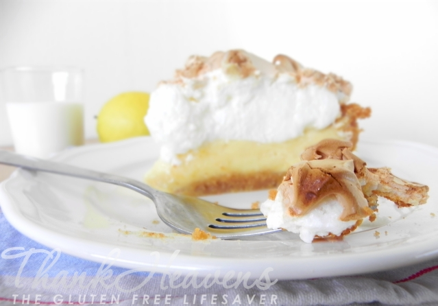 Easy & Quick Lemon Meringue Pie (gluten-free)