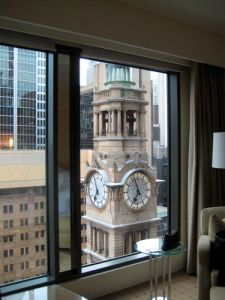 westin clock view