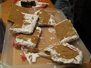 gingerbread house fail