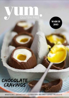 The Gluten Free Lifesaver Featured in the Gorgeous Easter Edition of Yum. Gluten Free Magazine!