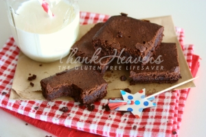 Worlds Best Carob Brownies!! Gluten-Free with dairy-free alternative; failsafe and FODMAP/fructose-friendly!