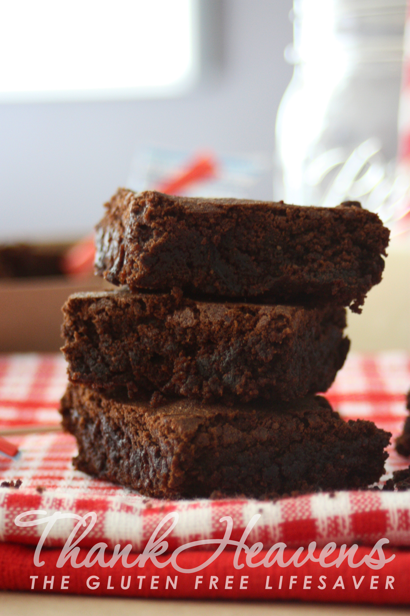 The Worlds Best Carob Brownie Not Kidding The Gluten Free Lifesaver