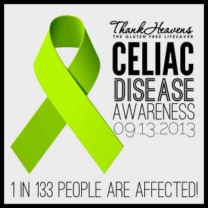 Happy Celiac Awareness Day USA 09.13.2013
