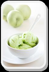 Green Apple Sorbet http://goo.gl/EaquVb