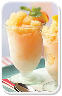 Spike Peach & Limeade Granita http://goo.gl/XgJ1Y5