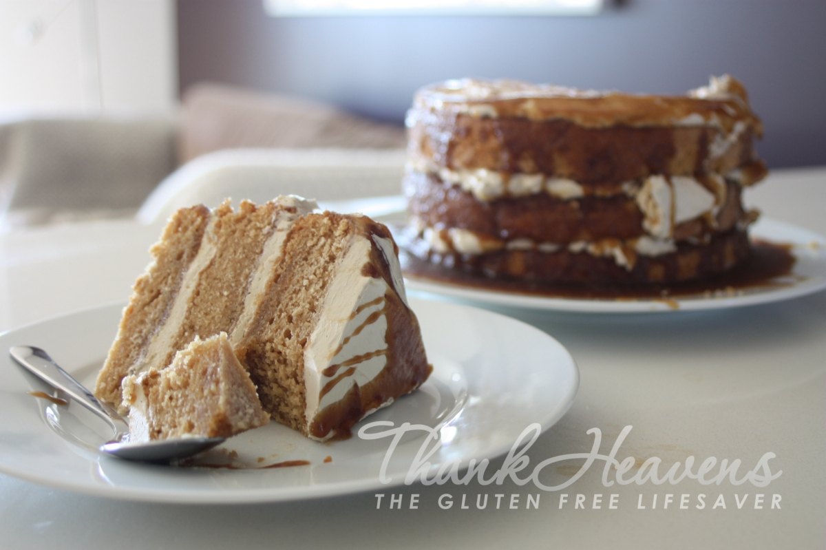 Failsafe Toffee Cake... layers and layers of crazy good!