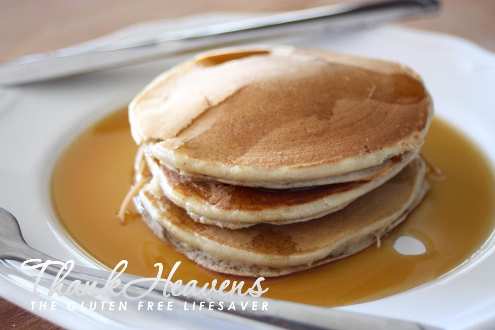 Fast & Fantastic 3 Ingredient Gluten Free Banana Breakfast Pancakes