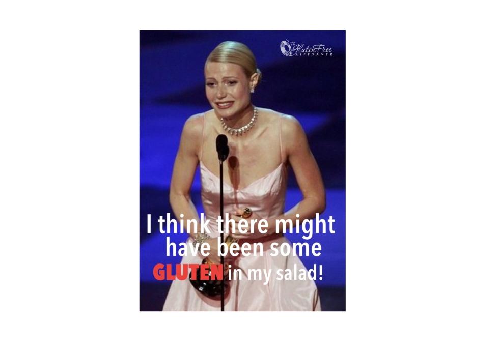 Gwyneth Palthrow Gluten-free