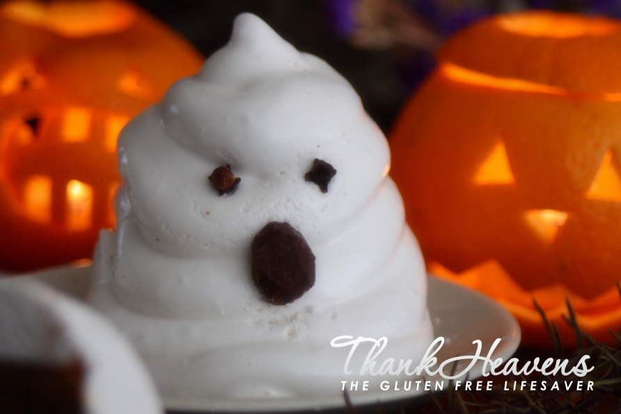 Super Spooky Chocolate Muffin Marshmallow Ghosts - Gluten-Free, Dairy-Free, Failsafe, Fructose Friendly