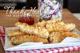 Kristine's Gluten Free Crispy Chicken Sticks - Soo much better than nuggets!