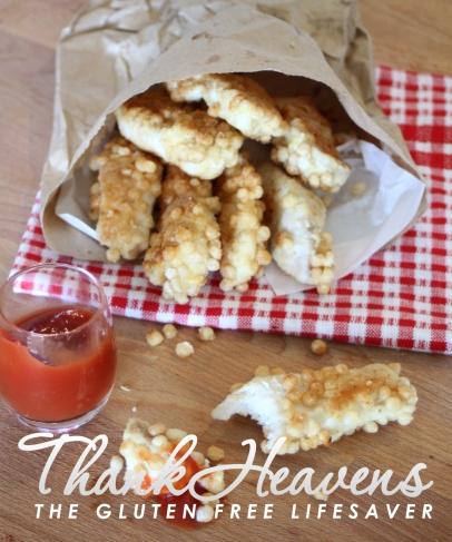 Kristine's Gluten Free Crispy Chicken Sticks - Soo much better than nuggets!