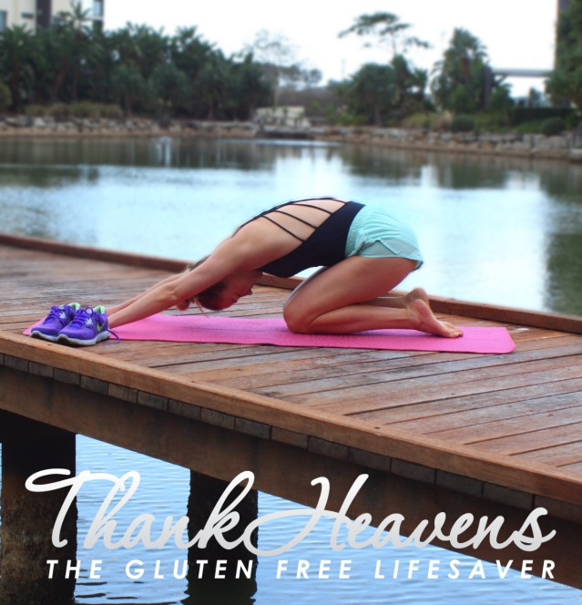 Yoga For Digestion by The Gluten Free Lifesaver
