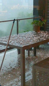 Hailstorm on the Gold Coast