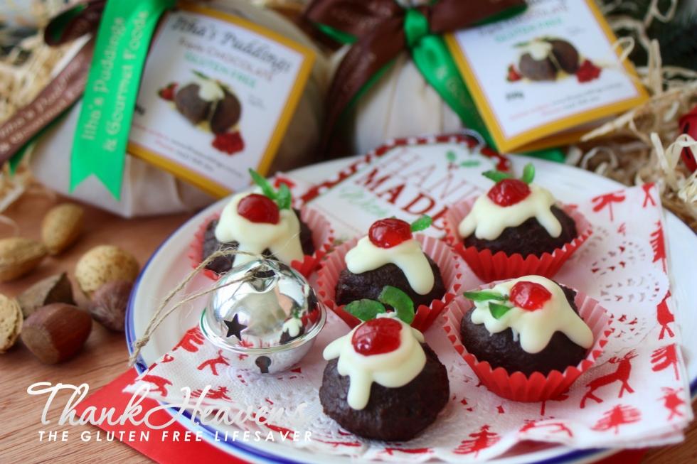 Nigella's Christmas Puddini Bonbons made gluten-free