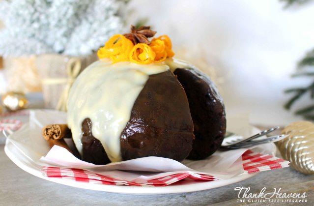Worlds best gluten Free Christmas pudding