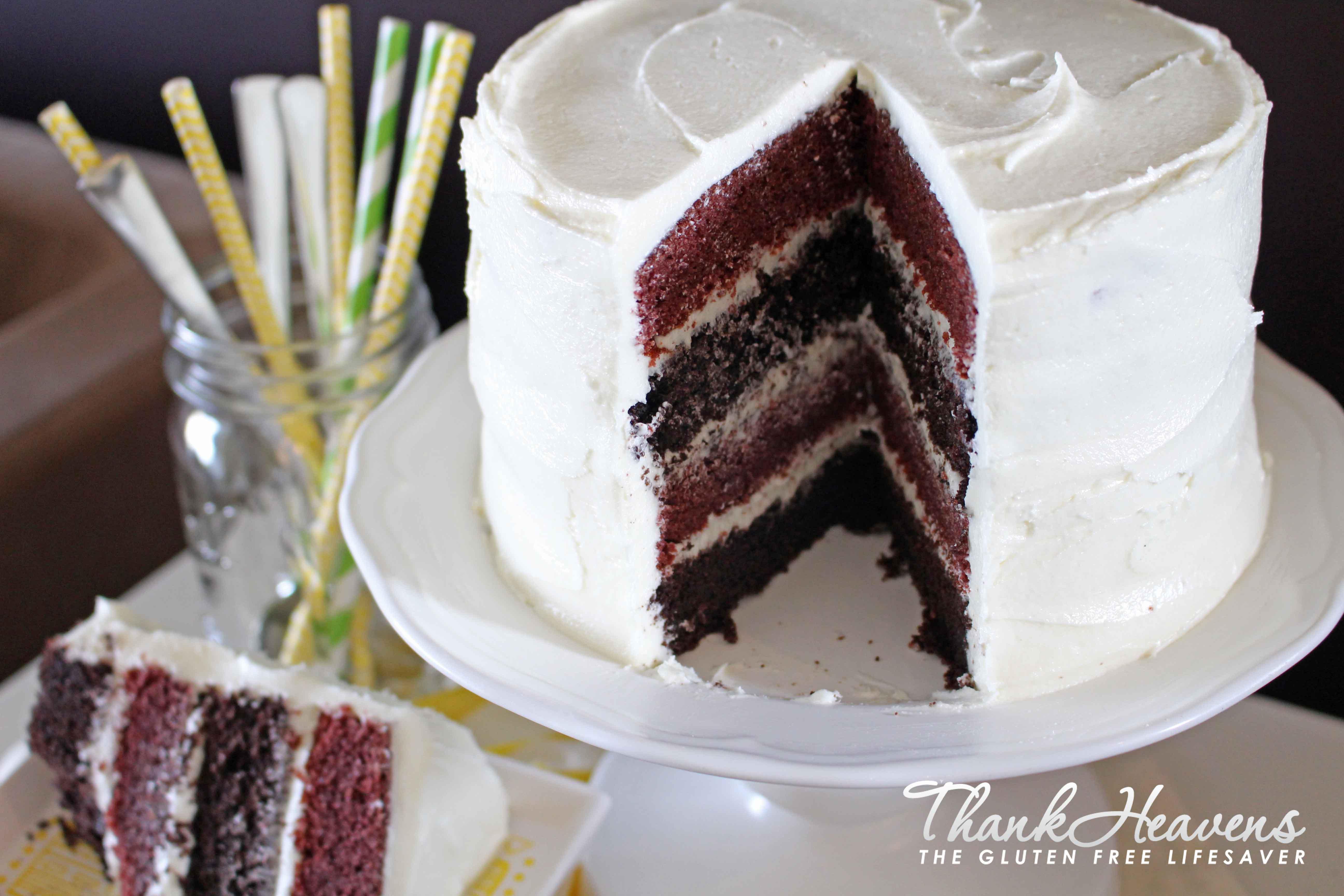 Gluten free egg free white cake recipe
