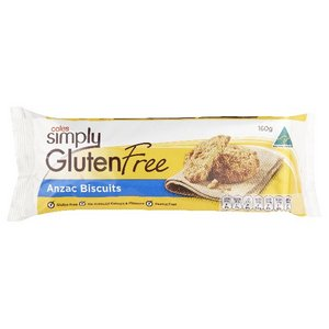 Coles Simply Gluten Free ANZAC biscuits