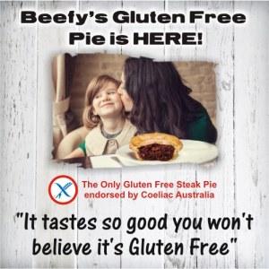 Beefy's gluten free pies