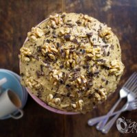 Nigella's Moist English Coffee Cake with Walnuts: Made Gluten-free & Dairy-Free!