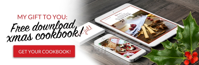 Download a FREE gluten-free Christmas cookbook!