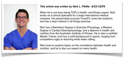Nick Pfeffer - The Gluten Free Lifesaver