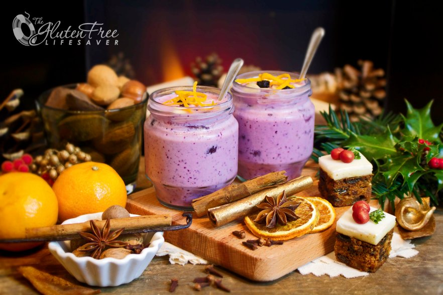 The Must-Have Mulled Wine Smoothie ; Super Easy and totally Yummy! #glutenfree #dairyfree #lowcarb #fodmapdiet #vegan #vegetarian #christmas #drink #smoothie #health