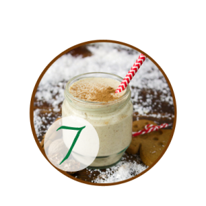 Gingerbread Man Christmas Smoothie