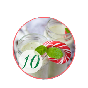 Sweet Peppermint Christmas Smoothie