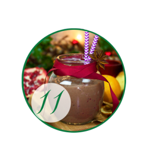 Decadent Christmas Pudding Smoothie - A Royal Treat!