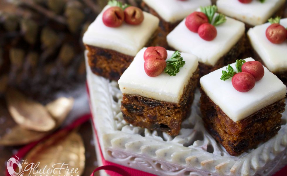 Alternative Christmas Cake.Festive Gluten Free Christmas Cake Bites The Gluten Free