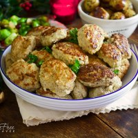 Norwegian Christmas Meatballs; The juiciest meatball you'll ever taste!
