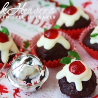 Nigella's Christmas Puddini Bon-Bons; Made From Decadent Chocolate Christmas Cake