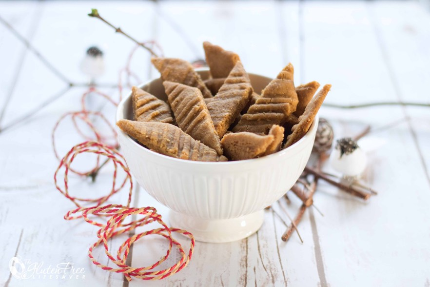Quick Scandinavian Toffee Biscuits that taste like heaven! #glutenfree #christmas #xmas #recipe
