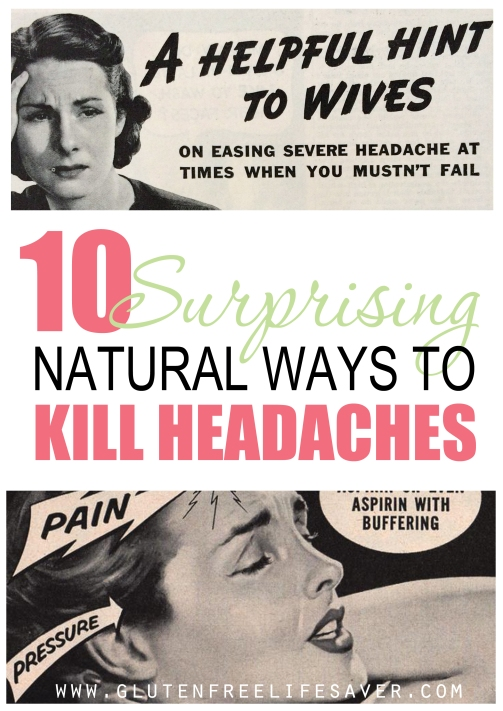 10 surprising ways to kill headaches without drugs!