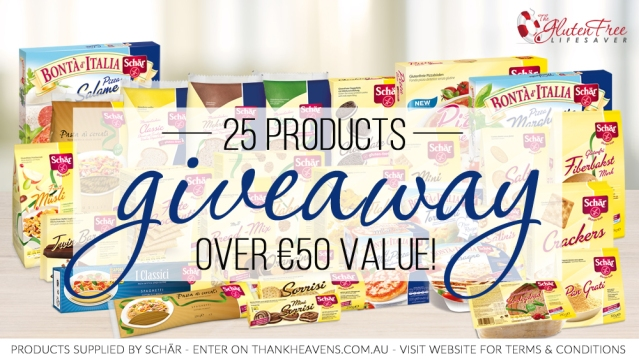 HUGE gluten-free giveaway!
