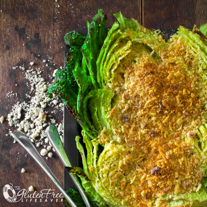 Rosemary and cheddar savoy cabbage au gratin #glutenfree