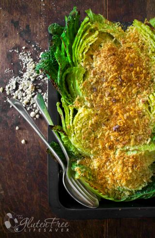 Rosemary and cheddar cabbage gratin #glutenfree