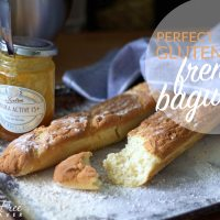 The Best Gluten-Free Crusty French Bread (Baguette) Recipe!