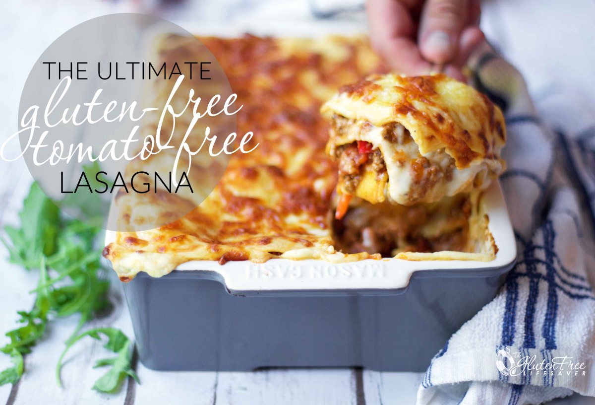 The Very Best Gluten-Free Tomato-Free Lasagna (with dairy-free option)!